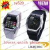 2012 new model watch lover watch mobile phone TW520