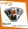 2012 quadband dual sim cards phone MINI E71