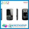 2012 triple sim card mobile phone m115