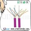 23AWG CAT6 FTP Cable, UL list, pass FLUKE TEST