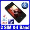 3.2 Dual SIM Dual Standby TV Java MP4 Mobile phone ATT