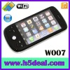 "3.2"" dual standby WiFi Phone+TV mobile phone  W007 White"
