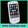 """3.2"""" dual standby WiFi Phone+TV mobile phone  W007 White"""