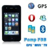 3.2 inch touch screen F98 GPS wifi TV mobile phone