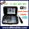 "3.2"" wifi tv mobiel phone t2000 phone"
