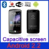3.3 inch android 2.2 phone with gps capacitive touch