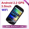 "3.5""Capacitive Dual Sim Card GSM Android 2.2 Phone"