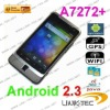 """3.5"""" Capacitive Multi-Point Touch Screen Dual sim Android 2.3 GPS WIFI Smart phone A7272+"""
