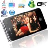 3.5'' D988 dual TV tuner (DVB-T digital TV + analog TV) WIFI dual sim mobile phone