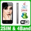 3.5 Dual SIM Dual Standby Java Wifi Cell phone Unlock