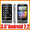 "3.5"" Dual Sim Card TV WiFi GSM Quad-Band A5000 Capacitive Android Cell Phone"