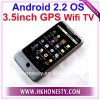 "3.5""GPS WiFi TV Dual Sim Card Phone Android2.2"