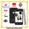 3.5 inch mobile phone H4 with android 2.3 & GPS