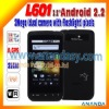 "3.6"" dual sim android mobile phone L601"