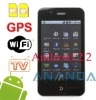 "3.6"" dual sim phone A6 Android2.2"