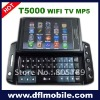 "3.6""inch touch screen wifi tv java T5000 cell phone accessory"