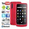 3.6'' super slim Android 2.2 Smartphone dual SIM WiFi TV FM A800 red