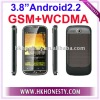 "3.8""Android2.2 MSM7227 GSM WCDMA Smart Phone"