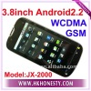 "3.8""Android2.2 WiFi GPS GSM WCDMA 3G Phone"