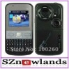 3 Chips Tv Celular Q5 Big Speaker Qwerty Keyboard Quad Band 3 Sim Tv Mobile Phone Q5