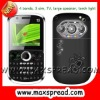 3 SIM Qwerty Celulare with camera Mini 9800
