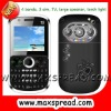 3 Sim Mobile Phone Mini 9800