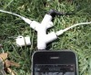 3 in 1 Tree Earphone Audio Splitter for iPhone