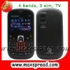 3 sim card mobile phones MAX-S8