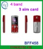 3 sim cards mobie phone