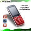 3 sim gsm China mobile phone