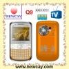 3 sim phone mobile Q9 with Analog TV