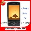 3 sim tv cell phone