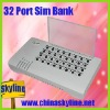 32 port sim bank for goip/ A remote card emulator and avoid sim card blocking