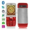 3500 Red, Bluetooth FM Function Quran Mobile Phone with 2GB TF Card, Dual Sim cards Dual standby, Dual band, Network: GSM 900 /