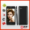 3G (WCDMA) 4.0 inch Capacitive touch screen Android 2.3 smart phone 5S