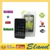 3G WCDMA/GSM mobile phone Android 2.3 phone H7300