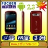 3G WCDMA android phone,Android 2.3 mobile phone, MT6573 phone, support WIFI, GPS, FM, BT, G-sensor, dual sim dual standby
