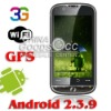 3G mobile phone android 2.3 mobile phone WIFI GPS GSM dual SIM smart phone