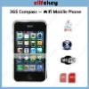 3GS Compass  3.5inch GSM Quad band Wifi Dual Sim Mobile Phone