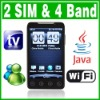 4.0 Inch Dual SIM Dual Standby 2 camera Wifi TV Java phone