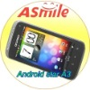4.0 inch best quality android 2.3 os china mobile phone
