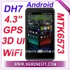 "4.3""Android 2.3 MTK6573 WCDMA GSM Smart Phone DH7"