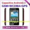 "4.3""Capacitive Android2.3 OS 3G WCDMA GSM Phone"