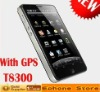 4.3inch  T8300  GPS cell phone with wifi TV
