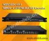 4 in 1 H.264 Encoder multiplexer