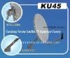45cm Ku band satellite dish antenna for tv outdoor