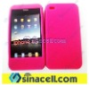 4G mobile phone pink silicone case