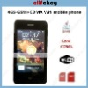 4GS 3.5 Inch Screen GSM/CDMA Dual Mode Wifi Java Mobile Phone With Multi-Touch function