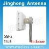 5GHz 21dBi Enclosure Panel antenna CPE wifi antenna (JHP-5159-21V14E)