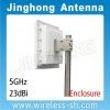 5GHz 23dBi Enclosure Panel CPE WiFi Antenna  (JHP-5159-23V12E)